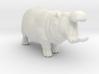Hippopotamus Attack miniature model fantasy games 3d printed