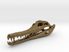 extinct Crocodile Skull Pendant 3d printed