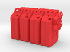 NATO 20L Gas Can 1/10 Scale X4 3d printed