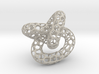 Voronoi knot 3d printed