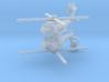 1/700 MH-60R Seahawk (x2) 3d printed