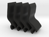 Volvo rear Sun Shade clip - Set of 4 3d printed