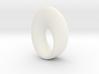 Mobius Torus Pendant - large 3d printed