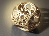 Apollonian Spherocube 3d printed Raw Bronze