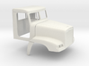 1/35 Frightliner Fld 120 Day Cab Shell Sep. Doors 3d printed