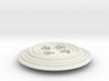 Button 6.1D 3d printed