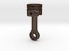 Piston Keychain 4cm 3d printed
