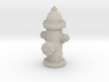 Fire hydrant, us style 3d printed