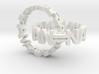 Interlocked Name Rings 3d printed