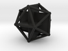 Golden Icosahedron 3d printed