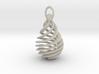 droplet earring-10(M) 3d printed