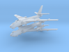 1/700 TU-16 Badger (x2) (Landing Gear Up) 3d printed