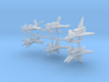 1/700 Experimental Aircraft Set 4 3d printed