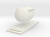 "CIE Bulk ""Bubble"" Cement Tank N Scale 3d printed"