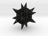 Angularstar with ball inside 3d printed