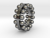 sphere ring 1 3d printed