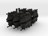 Gothic Hover Tank x12 3d printed