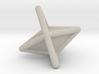 d6 die-pyramid blank 3d printed