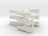 Gothic Frigate x3 3d printed