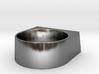 block Ring 20 3d printed