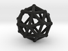 Snub cube (chiral) 3d printed