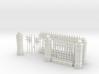 Iron Fence Kit #1 3d printed