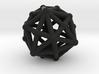 Dysdiakisdodecahedron 3d printed
