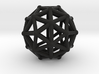 Pentakisdodecahedron 3d printed
