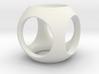 SphereWithCylinderHoles 3d printed