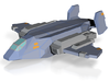 """""""Vulture"""" Assault Fighter 6mm [COLORED] 3d printed"""