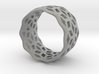 geometric ring 6 3d printed