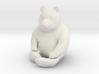 Panda Statuette 3d printed