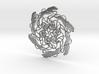 Running Dog Brooch 3d printed