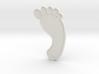Barefoot Pendant 3d printed