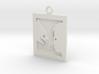 Sintel Keyring 3d printed