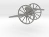 Kanon van 6 veld 3d printed