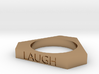 Live Love Laugh Ring (Size 7) 3d printed