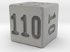 Binary 110-Sided Die 3d printed