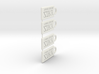 Ziry's keyholder half 3d printed