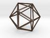 Icosahedron 3d printed