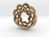 4 strand right mobius spiral NO ball 3d printed