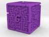 6 Sided Maze Die V2 3d printed