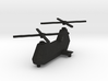 Twin-turbine helicopter 3d printed
