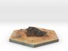 catan_desert_hexagon 3d printed