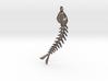 Fishbones  Pendant  3d printed