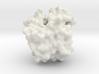 Human Hemoglobin Monomer - Oxy State - Surface 3d printed