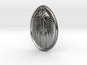 Aspidonia Trilobite Fossil pendant ~ 48mm tall 3d printed