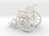 Wheelchair 1:12 (not full scale) 3d printed