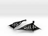 Wing Earrings - Fishhooks 3d printed