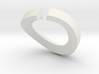 Single Diamond Bangle 3d printed